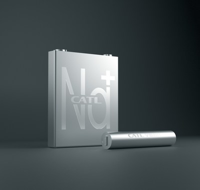 Batería de iones de sodio de primera generación de CATL (PRNewsfoto/Contemporary Amperex Technology Co., Ltd.)