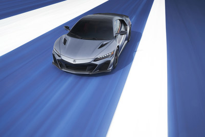Delivering quicker acceleration, sharper cornering and a more emotional driving experience than any road-going NSX ever, the new 600 horsepower 2022 NSX Type S raises the already impressive performance of the cutting-edge electrified supercar. Making its global debut today during the world-famous Monterey Car Week, NSX Type S is the ultimate expression of the brand's commitment to Precision Crafted Performance and firmly establishes Type S as Acura's performance halo.