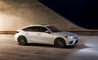The best Civic Hatchback ever goes on sale today combining Euro-inspired fastback style and world-class driving dynamics with improved versatility and an available 6-speed manual transmission. All-new, the 2022 Honda Civic Hatchback has a starting Manufacturer's Suggested Retail Price (MSRP) of $22,900