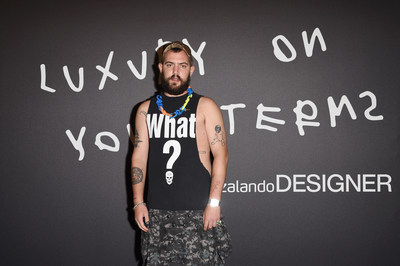 Marc Goehring attends Zalando Designer Event 'Luxury on your Terms' at Milan Fashion Week on September 23, 2021 in Milan, Italy. (Photo by Stefania M. D'Alessandro/Getty Images for Zalando)