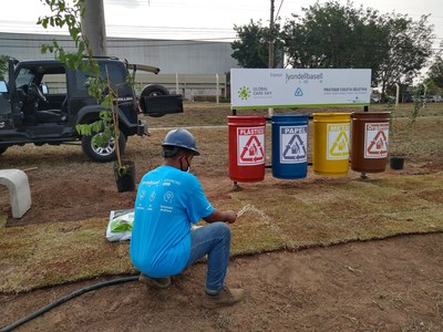 LyondellBasell volunteers across the globe took action as part of their commitment to sustainability on Sept. 18 during the company's 22nd annual Global Care Day. LyondellBasell Global Care Day is a company-wide day of service for employees and their families.