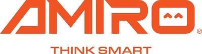 Logo and slogan of AMIRO brand