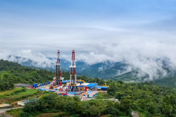 Sinopec Fuling Shale Gas Field Sets New Cumulative Production Record of 40 Billion Cubic Meters.